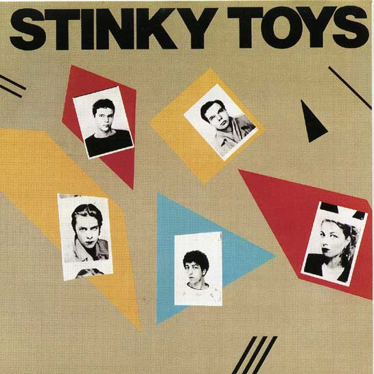 stinky toys - first album - le disque gris