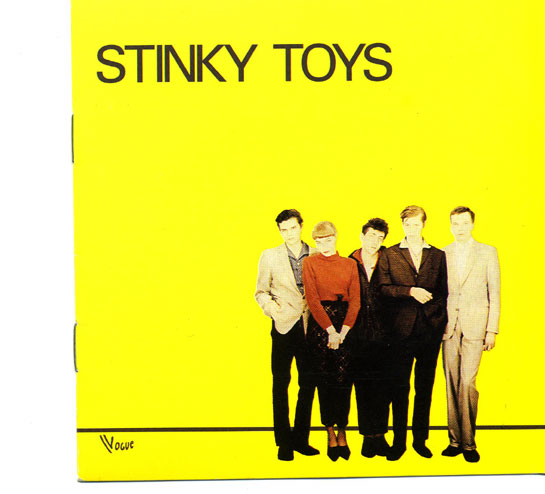 stinky toys - second album - le disque jaune